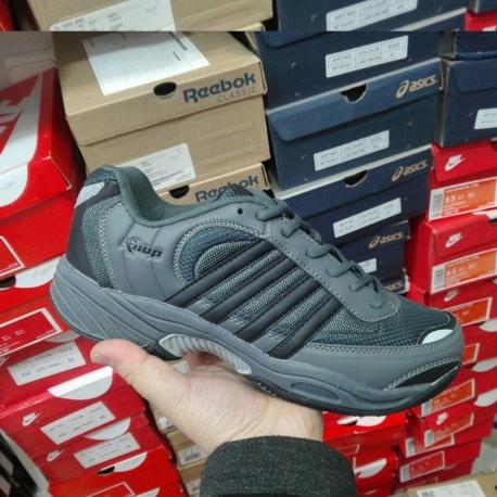 کفش سایز بزرگ مردانه کناپ خاکستری 5469