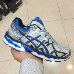 asics GEL blue gray